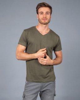 T-shirt uomo scollo a V Venezuela