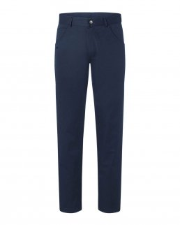 Pantaloni casual da uomo in stile classico a 5 tasche