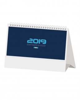 Calendario da tavolo Mini Silver