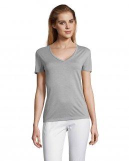 T-shirt scollo a V Motion