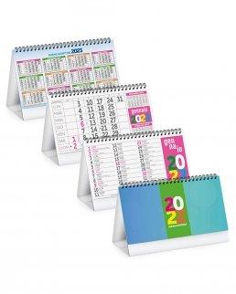 Calendario da tavolo Fluo