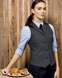 Ladies' Herringbone Waistcoat