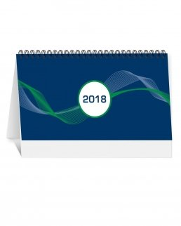 Calendario da tavolo con tabella 2018