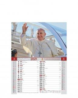 Calendario mensile Papa Francesco