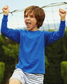 T-shirt bambino maniche lunghe Value Weight