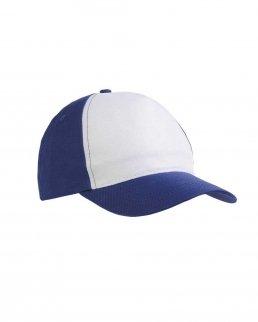 Cappellino in poliestere 5 pannelli