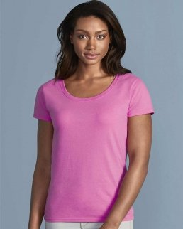 T-shirt donna scollo profondo Softstyle®