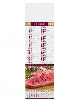 Calendario silhouette Carne 12 fogli
