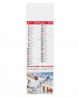 Calendario silhouette Papa Francesco 12 fogli