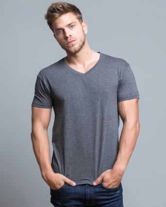 T-shirt scollo a V Urban V-neck jhk