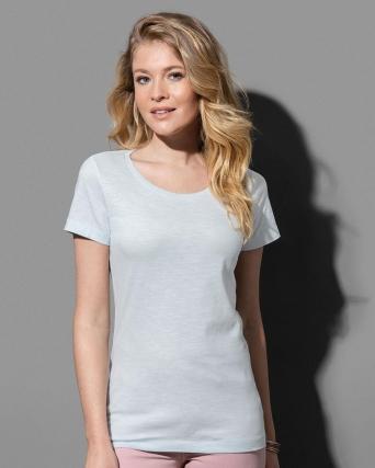 T-shirt con girocollo Sharon