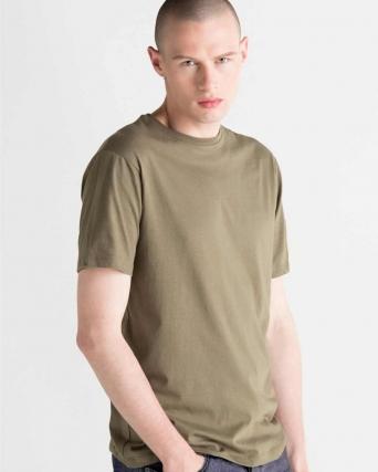 T-shirt uomo in cotone organico jersey box