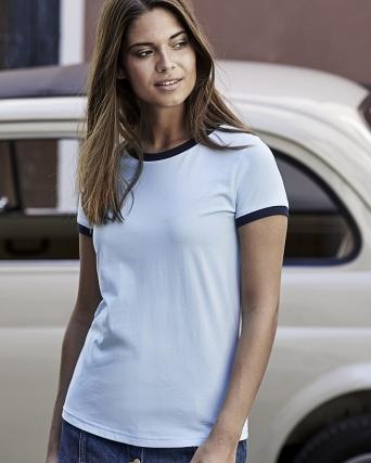 T-Shirt Ringer Tee - Donna
