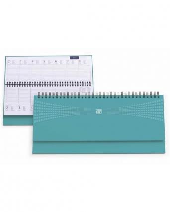 Planning settimanale in matra colori pastello
