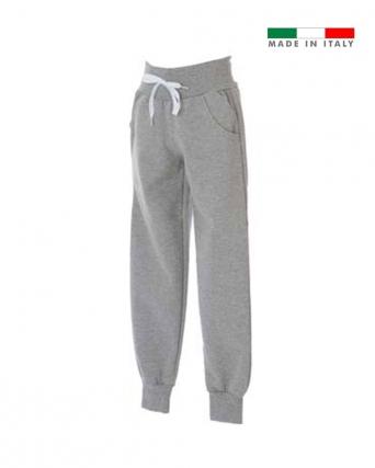 Pantalone in felpa made in Italy Cuneo