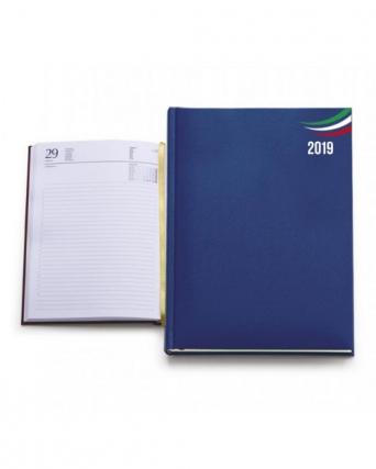 Agenda Giornaliera 11 x 17 con tricolore