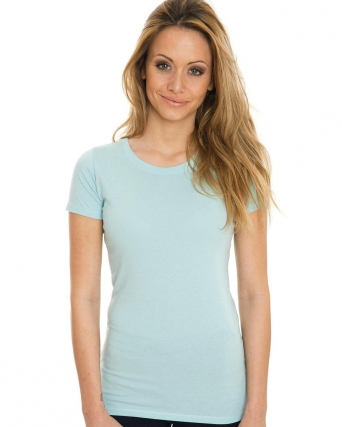 T-shirt donna Organic Slim Fitted