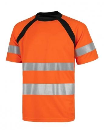 T-shirt alta visibilità combinata