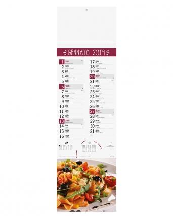 Calendario Silhouette Gastronomia