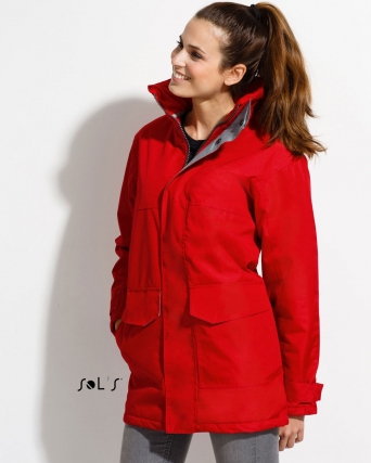 Parka unisex foderato in pile