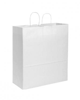Shopper in carta 90 gr maniglia ritorta