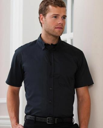 Camicia uomo Twill Classic maniche corte