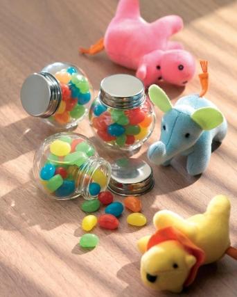 Barattolo di vetro con gelatine