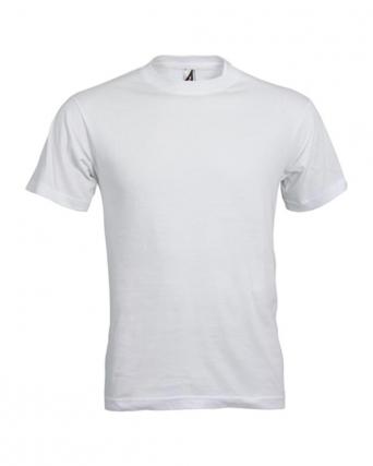 T-shirt adulto Bomber White economica