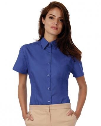 Camicia donna popeline maniche corte Heritage