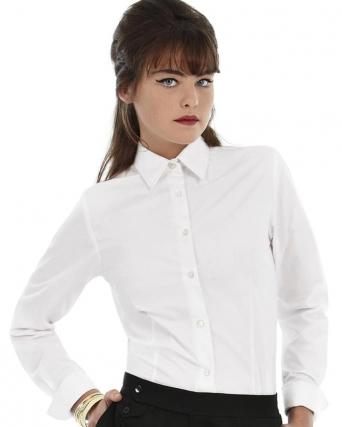 Camicia donna popeline maniche lunghe Heritage