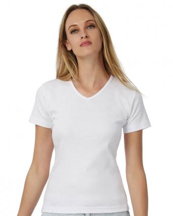T-shirt con scollatura a V Watch
