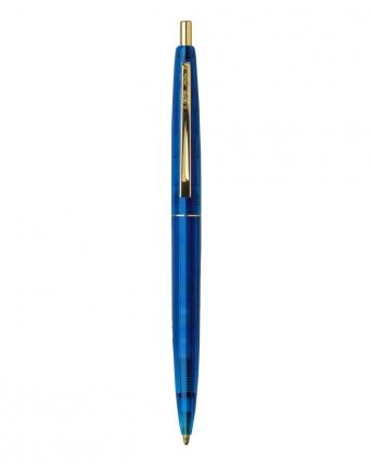 Penna a sfera Clic Gold Clear Ecolutions®