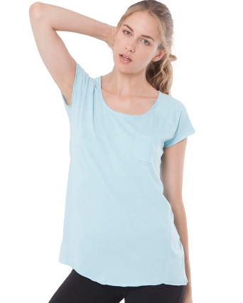 T-shirt leggera con taschino