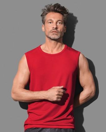 T-shirt senza maniche Sleeveless