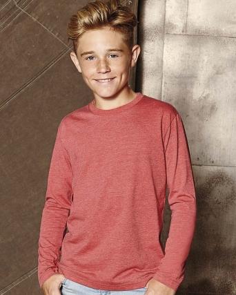 T-shirt bambino HD maniche lunghe