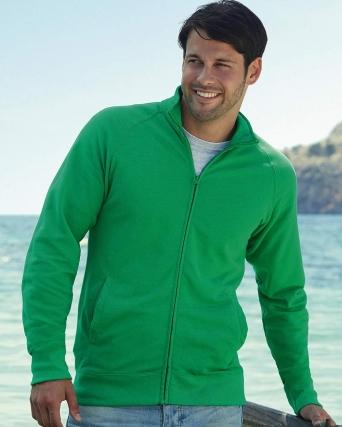 Felpa giacca leggera con zip
