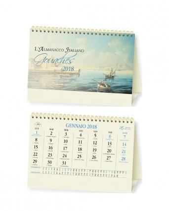 Calendario da tavolo Gouaches