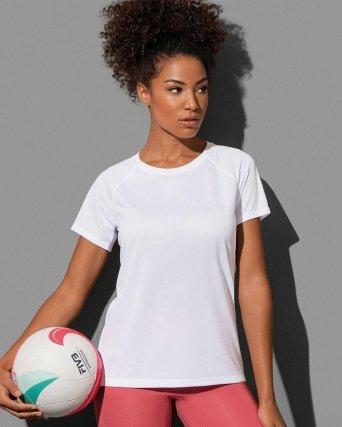 T-shirt con girocollo Active 140 Raglan Elasticizzata