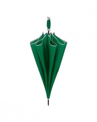 Maxi ombrello automatico con profilo a contrasto