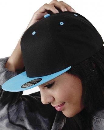 Cappellino 5 pannelli visiera in contrasto