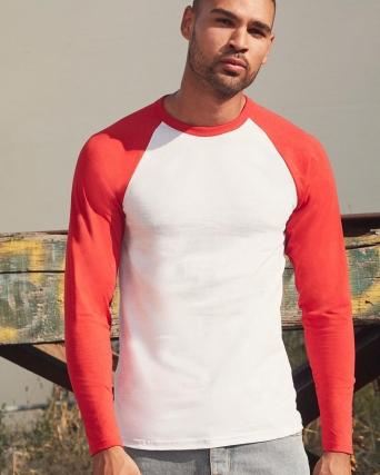 T-shirt Baseball maniche lunghe